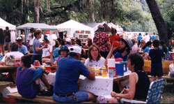 folks enjoying themselves at Red Belly Day '98